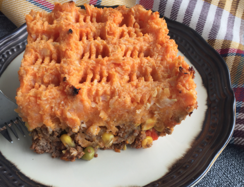 Cauliflower Sweet Potato Shepherd's Pie